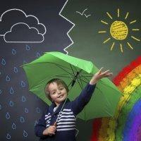 De qué están hechas las nubes. Meteorología para niños
