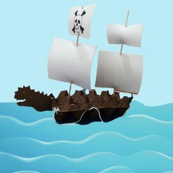 Cómo hacer un barco de Pirata