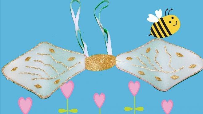 Worksheet. Cmo hacer unas alas de abeja para un disfraz