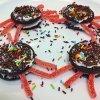 Arañas con galletas Oreo