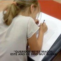 Carta a los Reyes Magos de una niña víctima de bullying