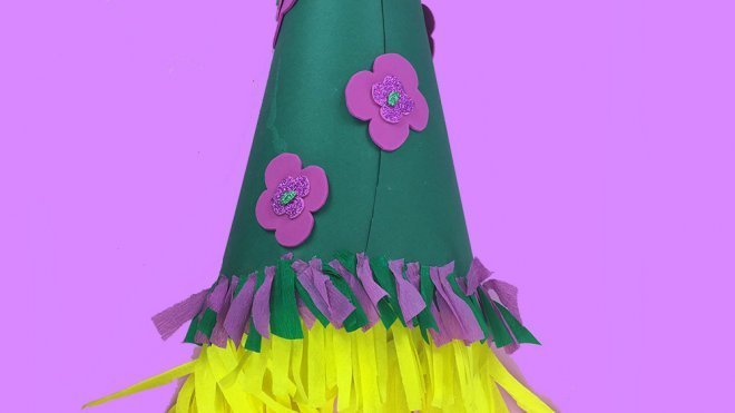 adc553001994c Cómo hacer un sombrero casero de Carnaval para niños