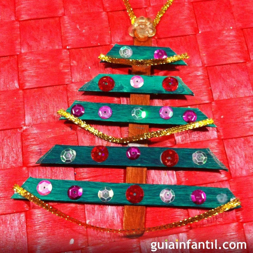 Rbol de navidad manualidades de decoraci n para la navidad - Tarjetas de navidad manuales ...