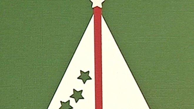 postales y tarjetas para navidad rbol y estrellas con nios