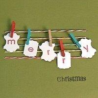 Haz tu propia felicitación de Navidad, ideas de tarjetas