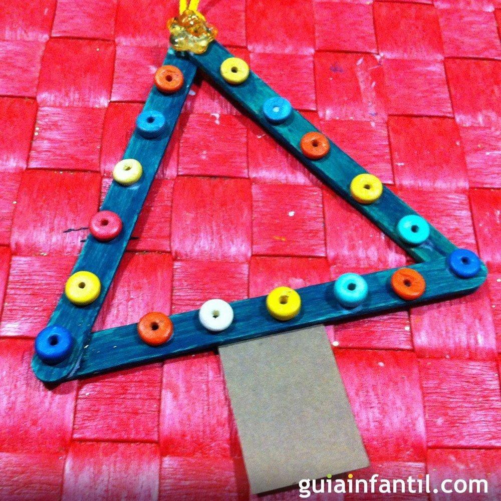 Un papa noel de decoracion en navidad manualidades para - Manualidad ninos navidad ...