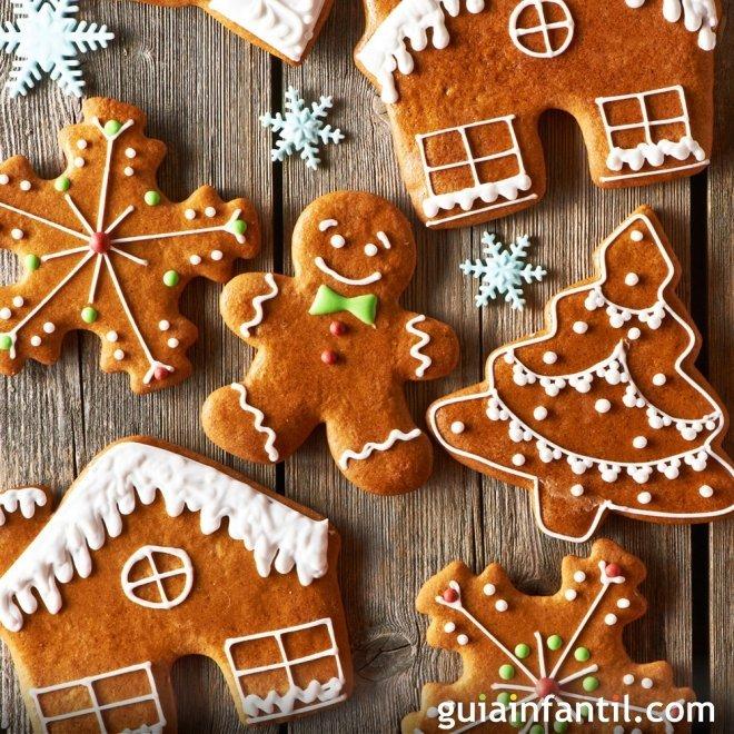 Imagenes De Galletas De Navidad Decoradas.Galletas De Navidad Recetas Faciles Para Ninos