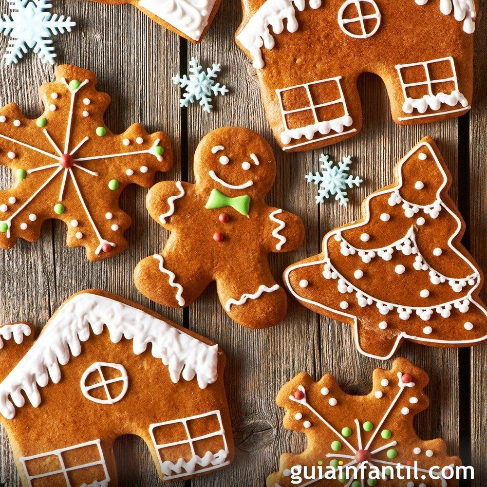 Galletas De Navidad Recetas Fáciles Para Niños