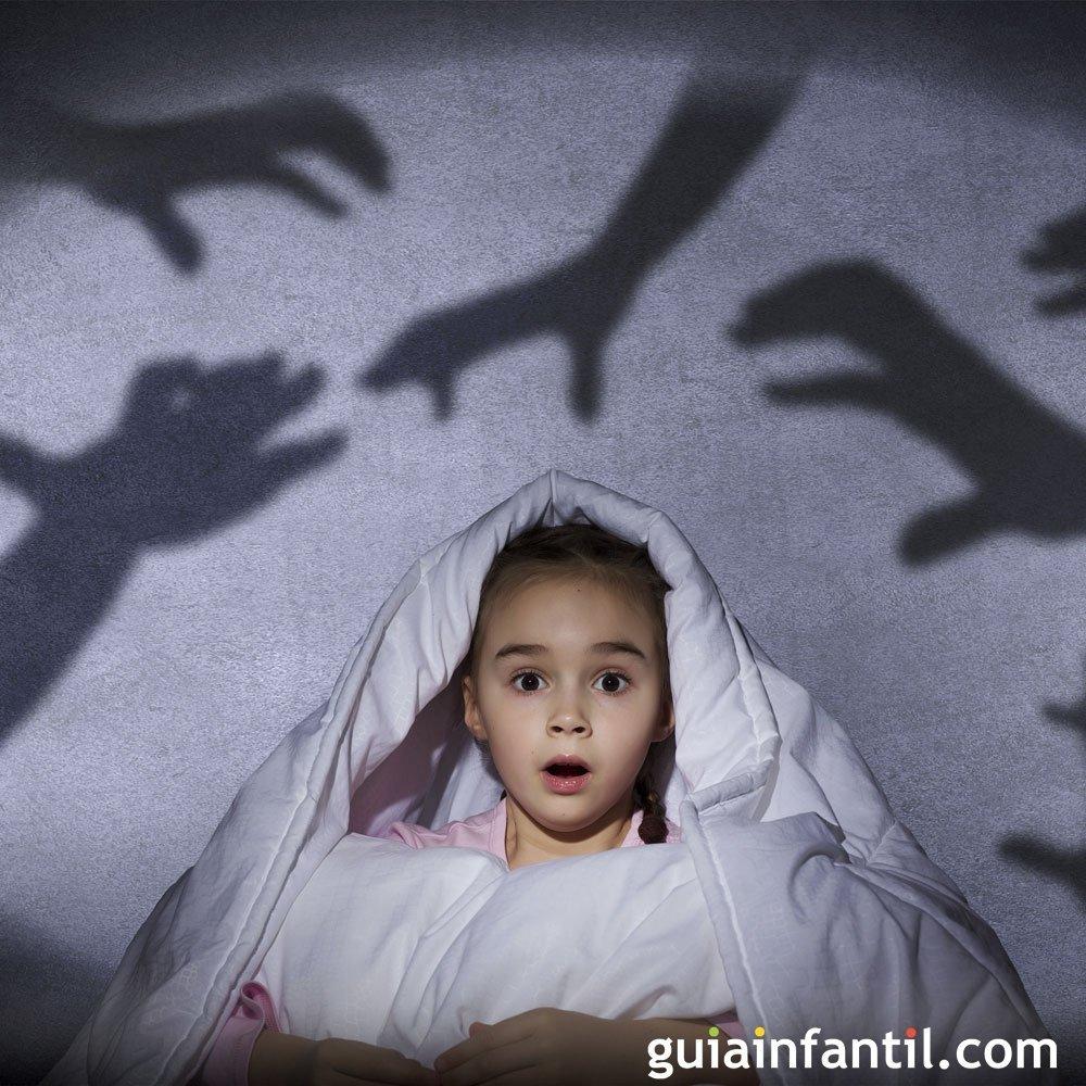 Los miedos en los niños, no reforzarlos