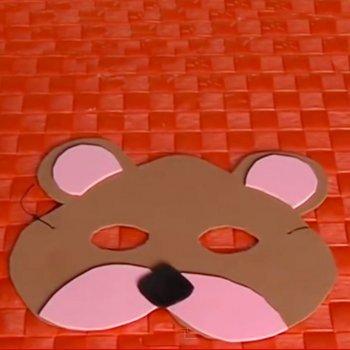 Antifaz de oso