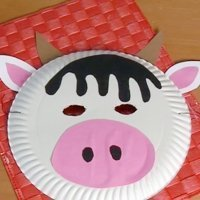 Máscara de Vaca, manualidades disfraces de carnaval