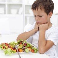 Cuando al niño no le gusta la verdura