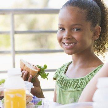 La merienda ideal de los niños