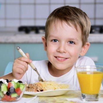 La cena ideal de los niños