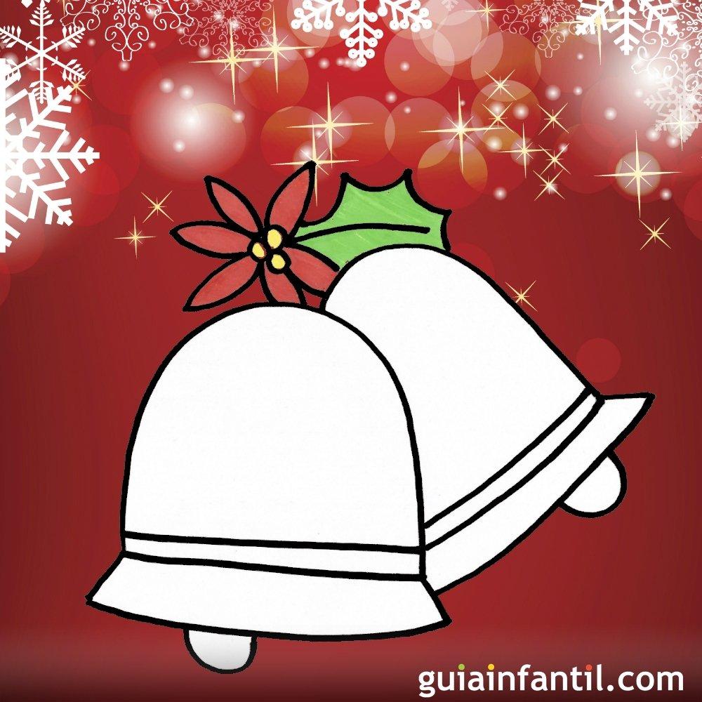 Dibujos Para Ninos De Navidad Campanas Navidenas