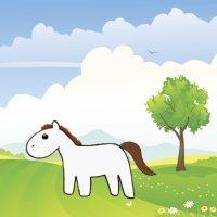Aprende a dibujar un caballo. Dibujos para niños