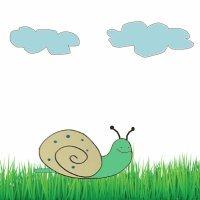 Cómo dibujar un caracol. Dibujos para niños