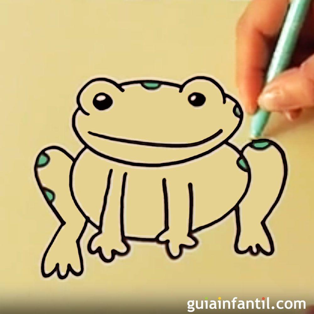 Infantiles Dibujar Cómo Dibujar Una RanaDibujos Cómo CWrodxBe