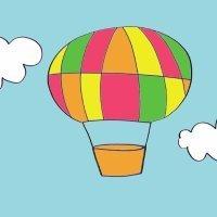 Cómo dibujar un globo. Dibujos de transportes para niños