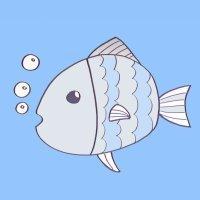 Dibujos para niños de peces. Cómo dibujar un pez