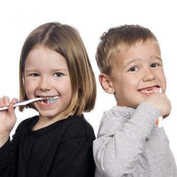 Higiene dental en los niños