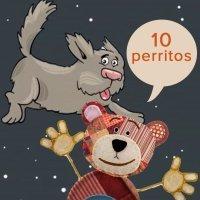 Canción infantil del Oso Traposo. Diez perritos