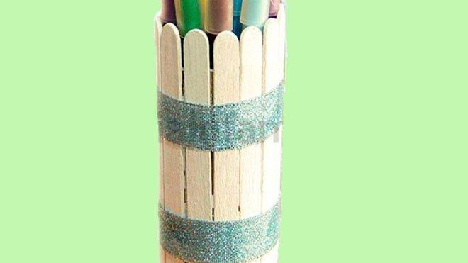 Cómo hacer un bote de lápices. Manualidades de reciclaje