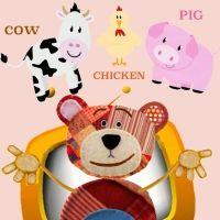 El nombre de los animales de la granja en inglés para niños