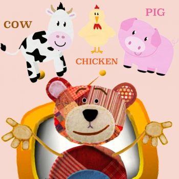 Los animales de la granja en inglés