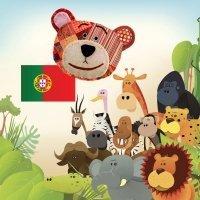 Aprende el nombre de los animales de la selva en portugués