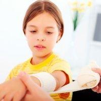 Cómo curar una quemadura. Primeros auxilios para niños