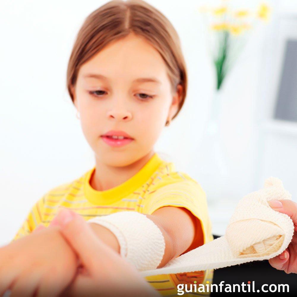 Quemaduras Primeros Auxilios A Los Niños