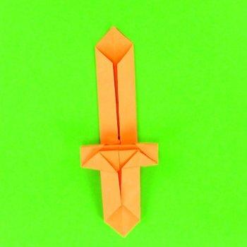 Espada de origami