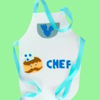 Cómo hacer un delantal de cocinero para un disfraz infantil
