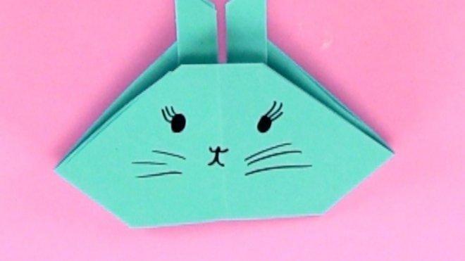 Cómo Hacer Un Conejo De Papel Manualidades De Origami