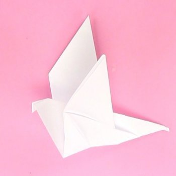 Paloma de origami