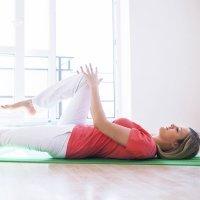 Ejercicio para mejorar la circulación de las piernas tras el parto