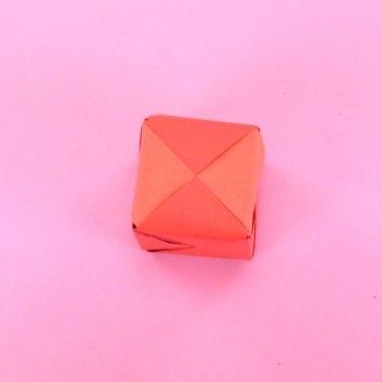 Caja sorpresa de origami