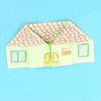 Cómo hacer una casa de origami