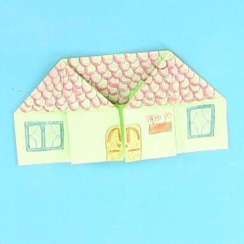 Casa de origami