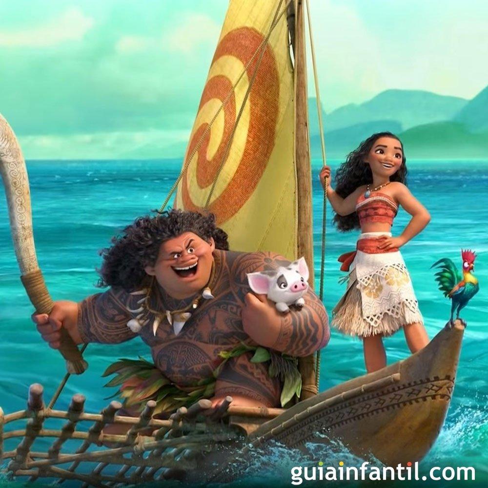 Moana vaiana pel cula de dibujos animados para ni os for Wallpaper bambini