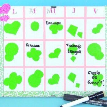 Cómo hacer un organizador o calendario escolar para los niños