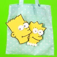 Cómo hacer una bolsa para la merienda con la cara de Los Simpson