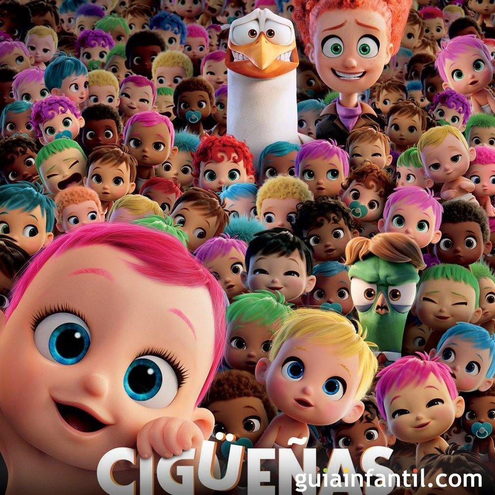 Cig e as una pel cula de dibujos animados para ni os Imagenes con animacion