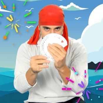 Truco mágico con cartas para niños