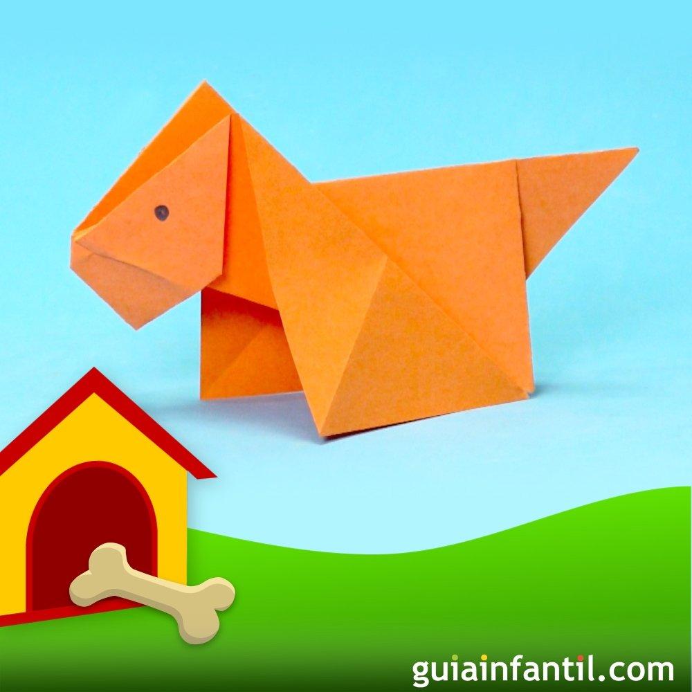 C mo hacer un perro de origami for Pasos para elaborar un vivero