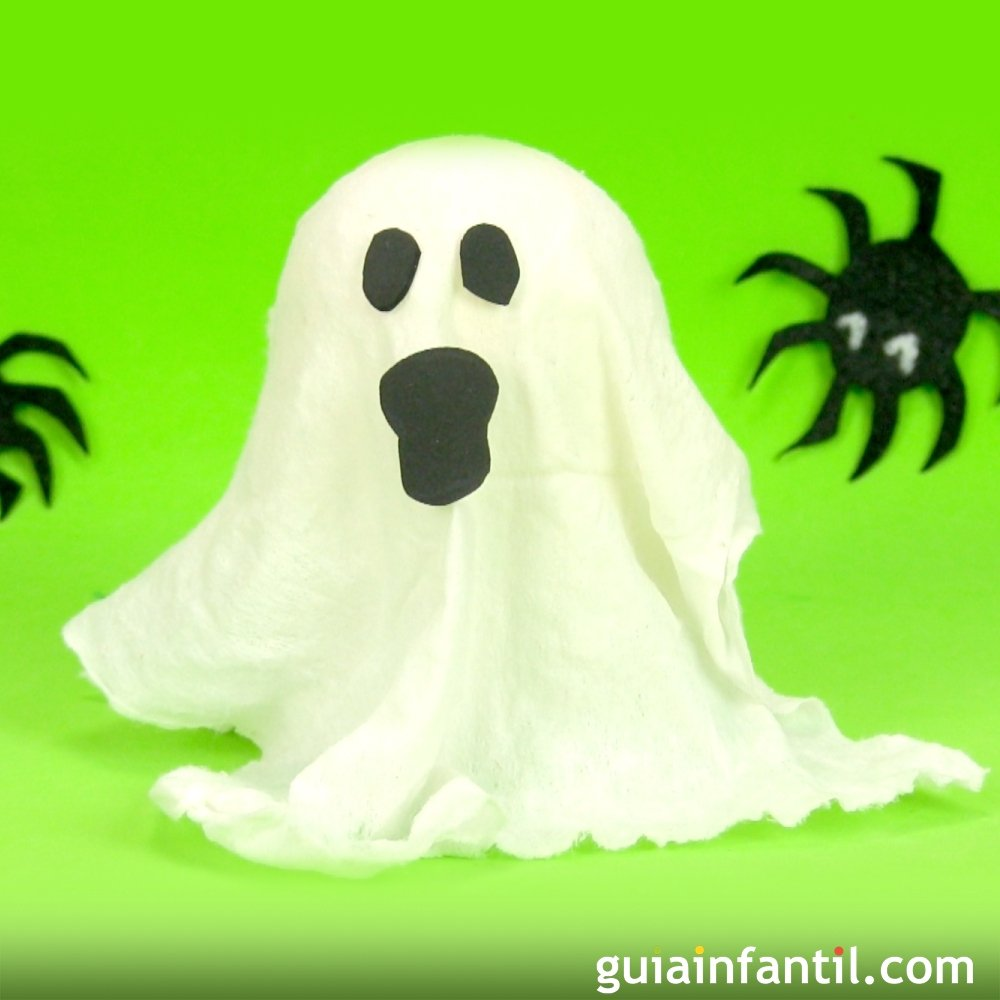 C mo hacer un fantasma para halloween con material reciclado for Para desarrollar un parque ajardinado