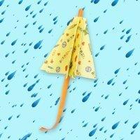 Cómo hacer un paraguas de papel