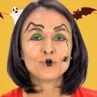 Cómo hacer un maquillaje de bruja a los niños