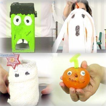 Manualidades de Halloween para hacer con los niños en poco tiempo